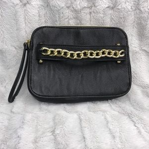 Steve Madden Double Pocket Wristlet Clutch Wallet